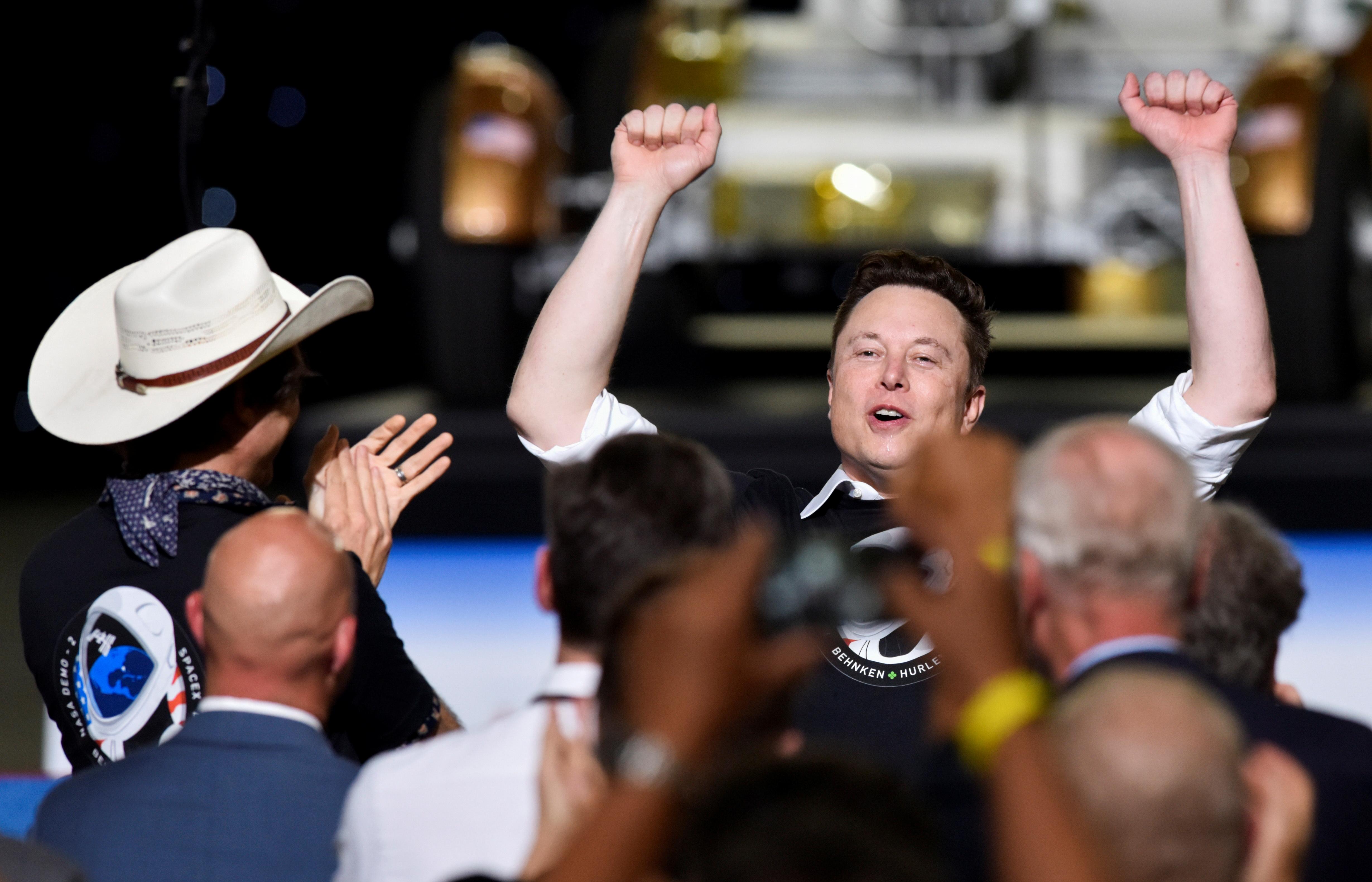 La empresa de Elon Musk inauguró la era de las misiones comerciales al espacio