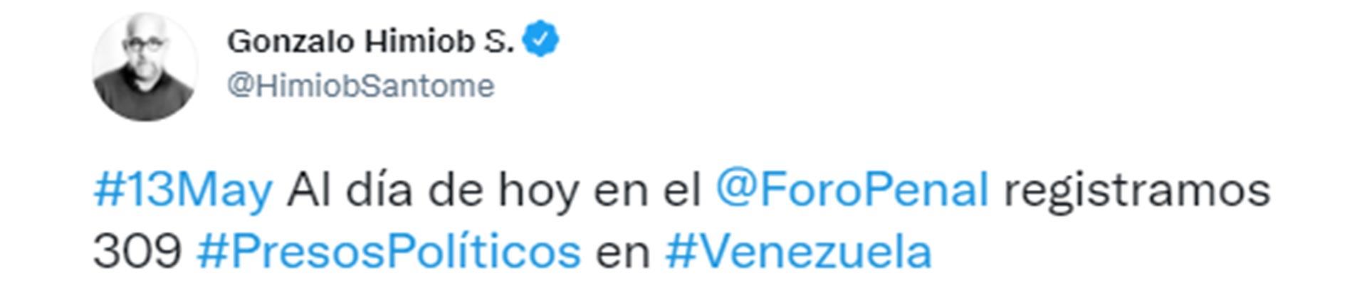 El tuit de Gonzalo Himiob