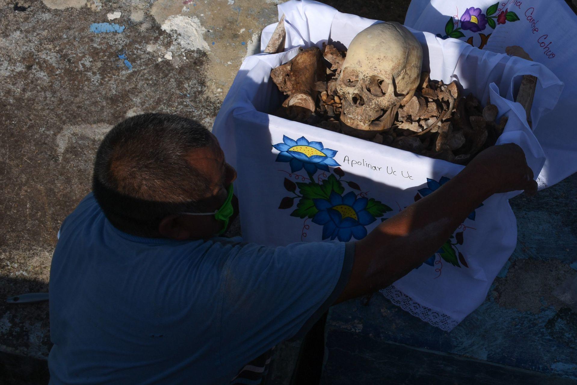 Pomuch, Campeche, México. 26 de octubre de 2020.