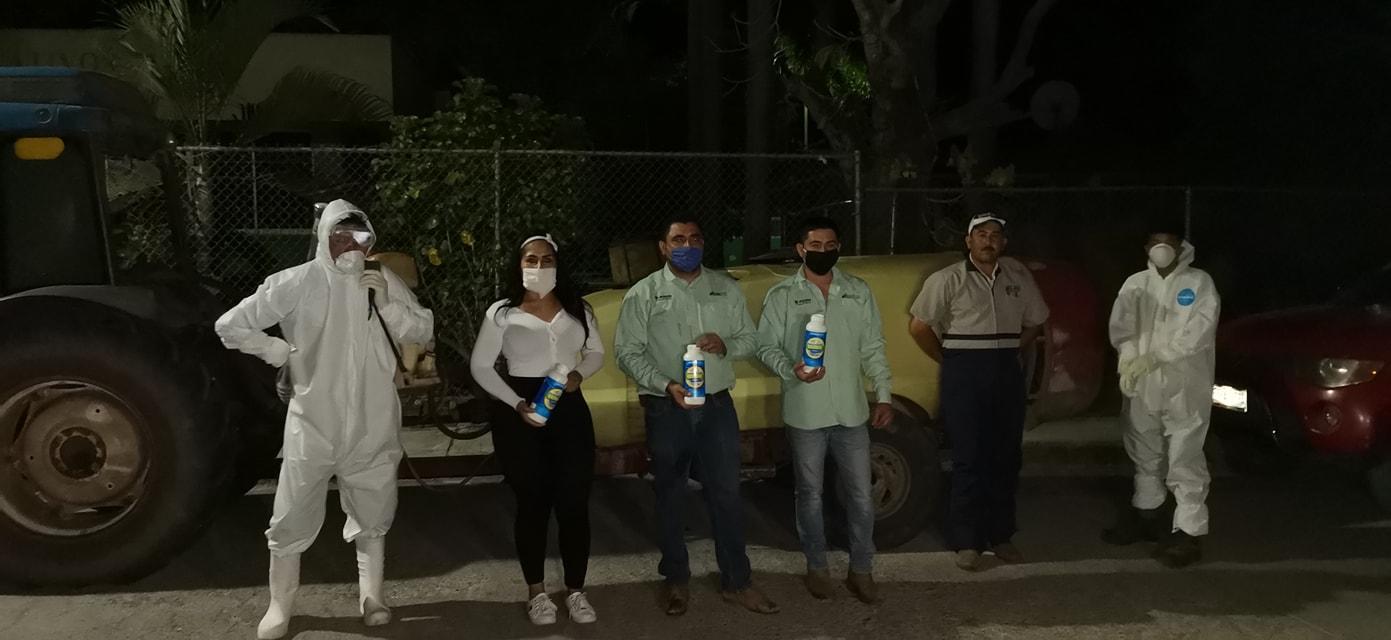 Anel Bueno realizaba labores de sanitización cuando fue secuestrada por un grupo de hombres armados y encapuchados (Foto: Facebook/Anel Bueno)