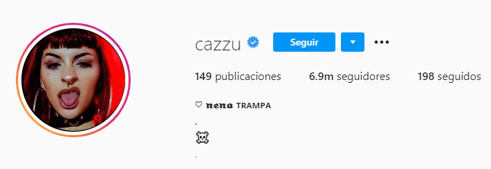 Cazzu (Foto: Instagram)