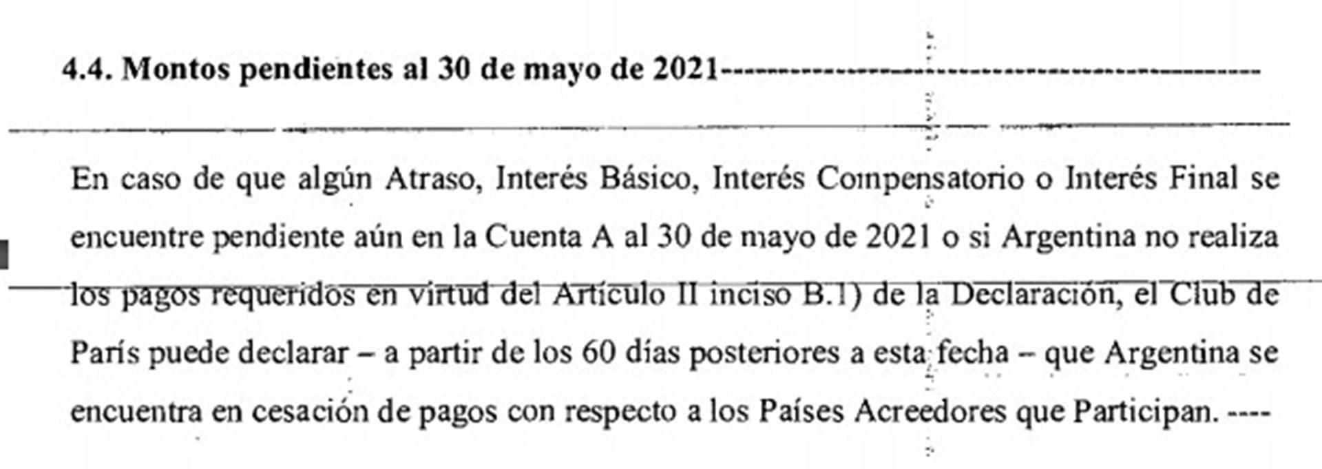 El acuerdo firmado por Axel Kicillof en 2014 finalizará este lunes y tras siete años de vigencia, el país aún debe USD 2.400 millones.