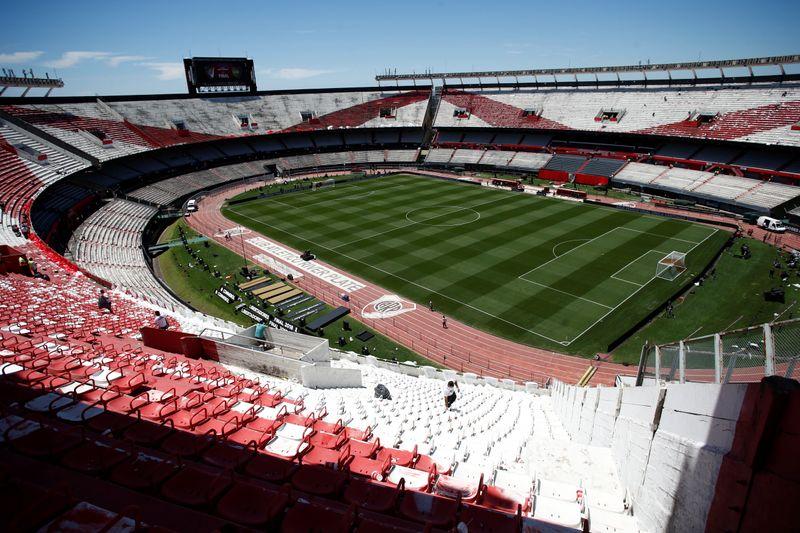 PUESTO 6 - 175 PARTIDOS / Estadio Monumental de Buenos Aires, Argentina (REUTERS/Martin Acosta)