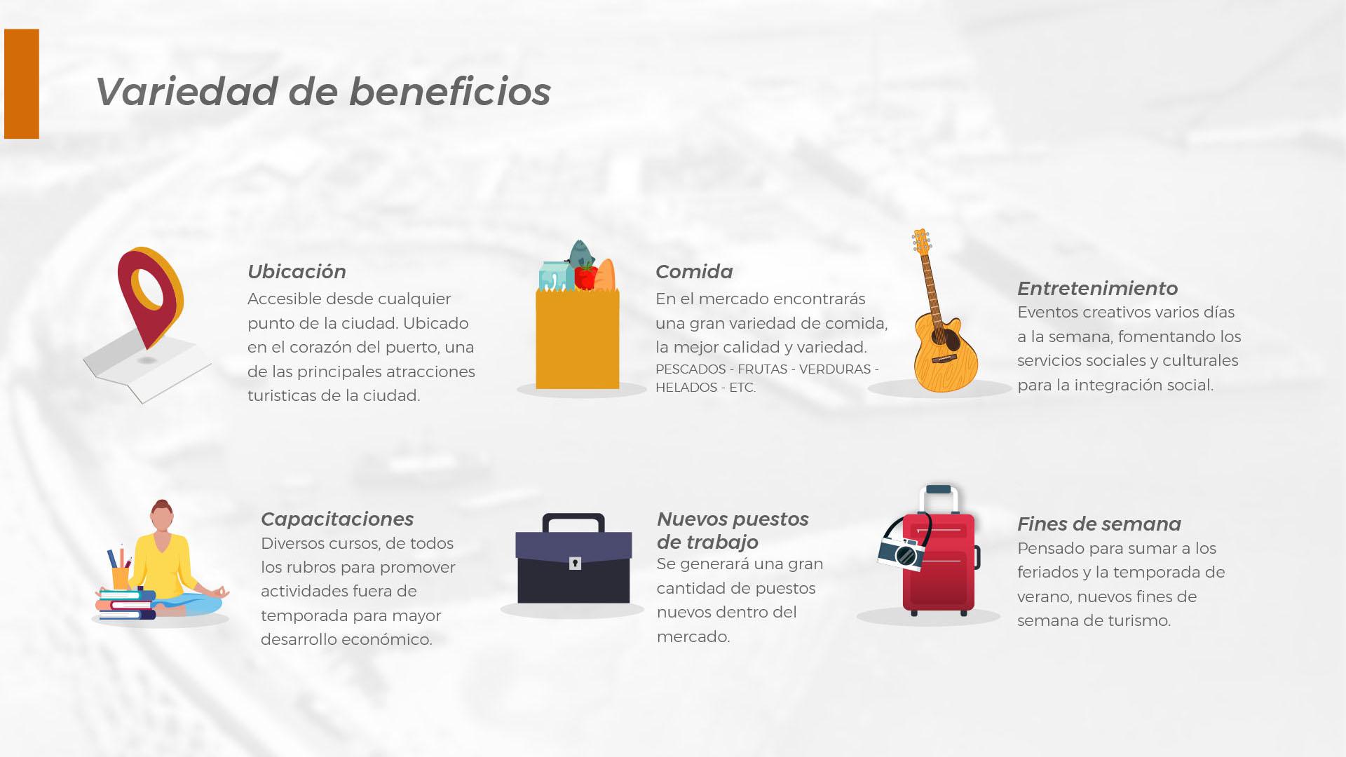Algunos de los beneficios del Mercado Fénix del Puerto de Mar del Plata