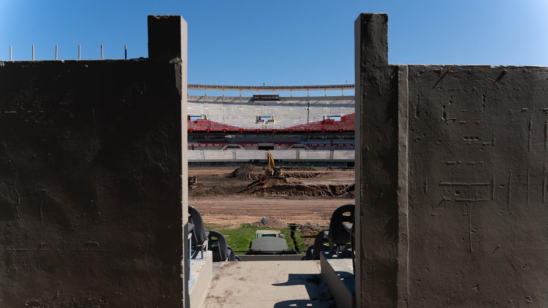 A partir del próximo año River contará con un túnel único, por donde saldrán a la cancha ambos equipos