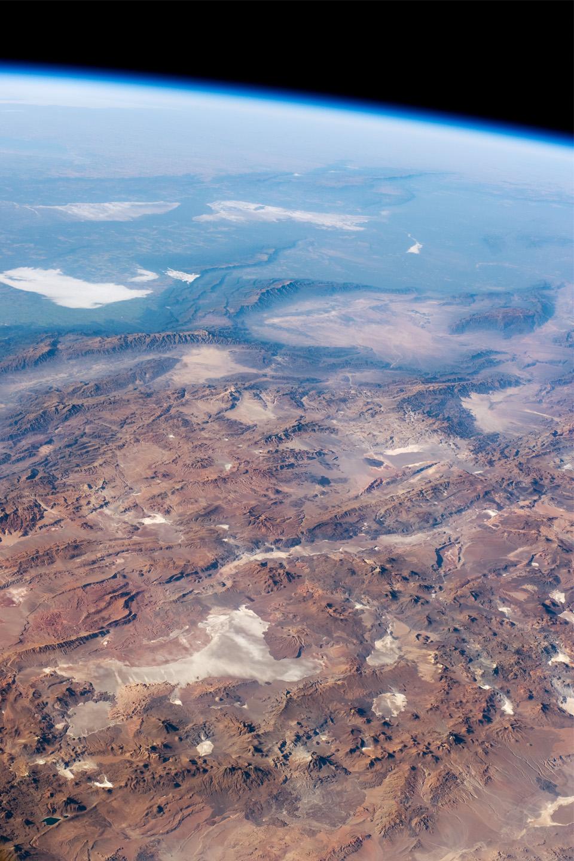 Panoramica de los Andes centrales, Salar de Arizaro, Argentina