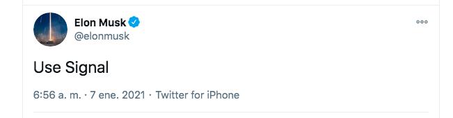 """""""Usen signal"""", el tuit de la confusión (Twitter)"""