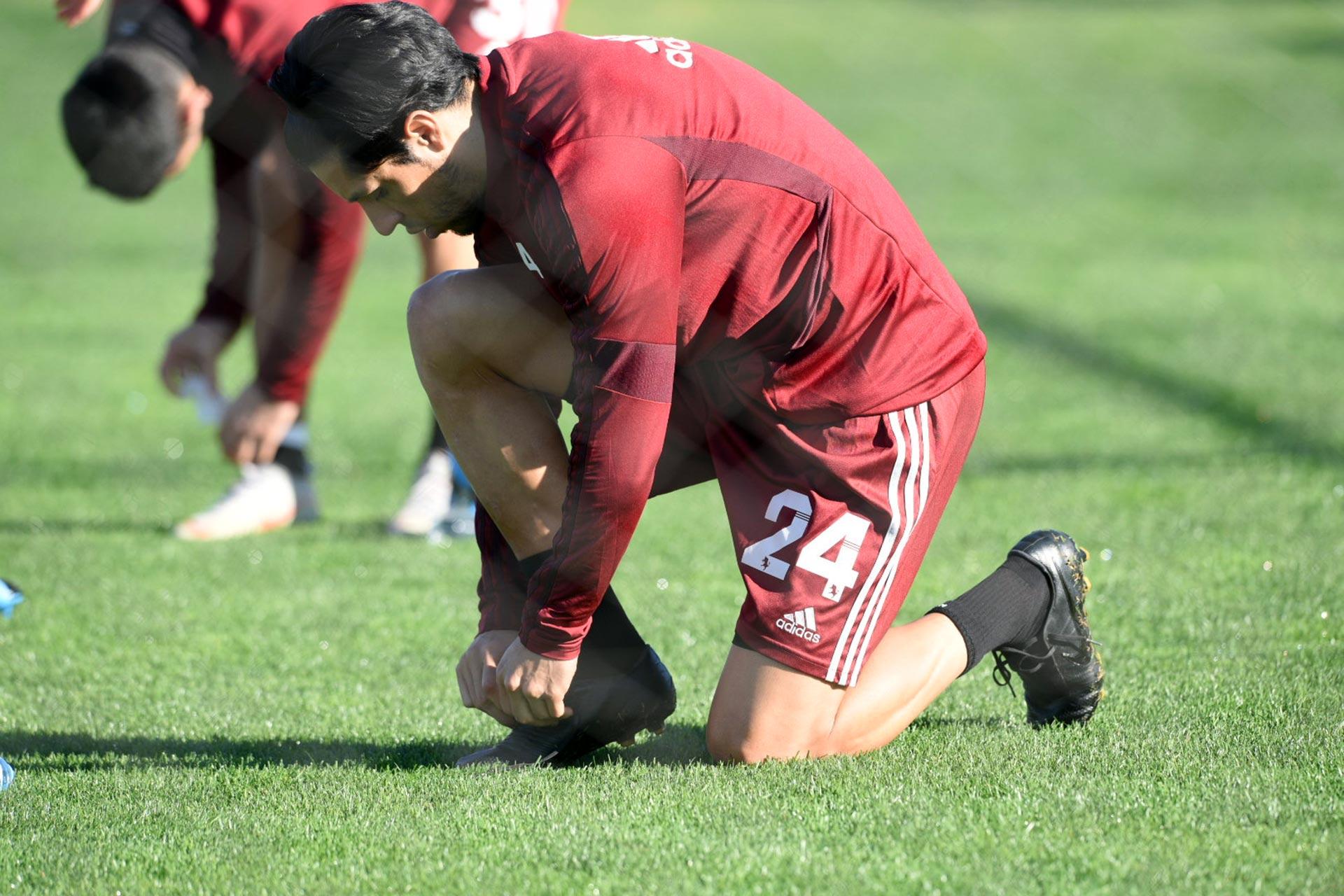 Luego de casi cinco meses de inactividad, el Millonario volvió a los entrenamientos este lunes en el River Camp, el predio de Ezeiza que cuenta con 14 hectáreas y 7 canchas de fútbol