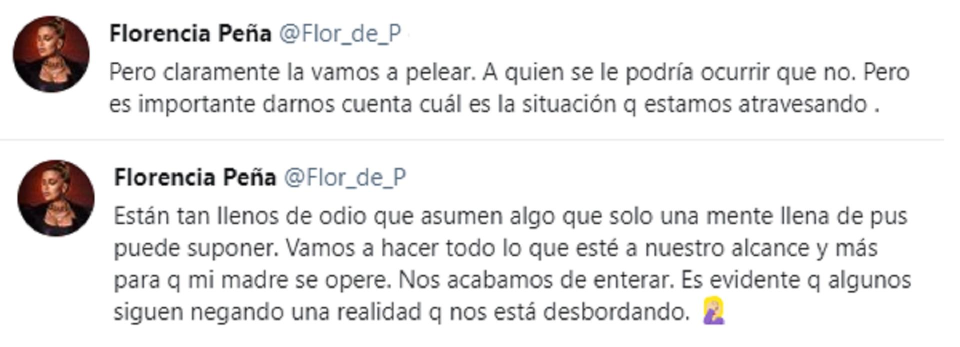 Los tuis de Florencia Peña