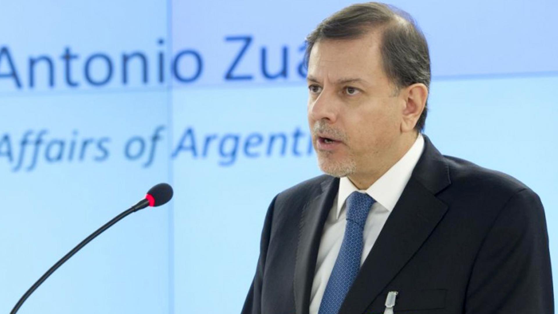 El Gobierno oficializó la designación de Eduardo Zuain como embajador en  Moscú - Infobae