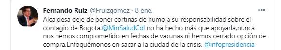 Trinos Claudia López