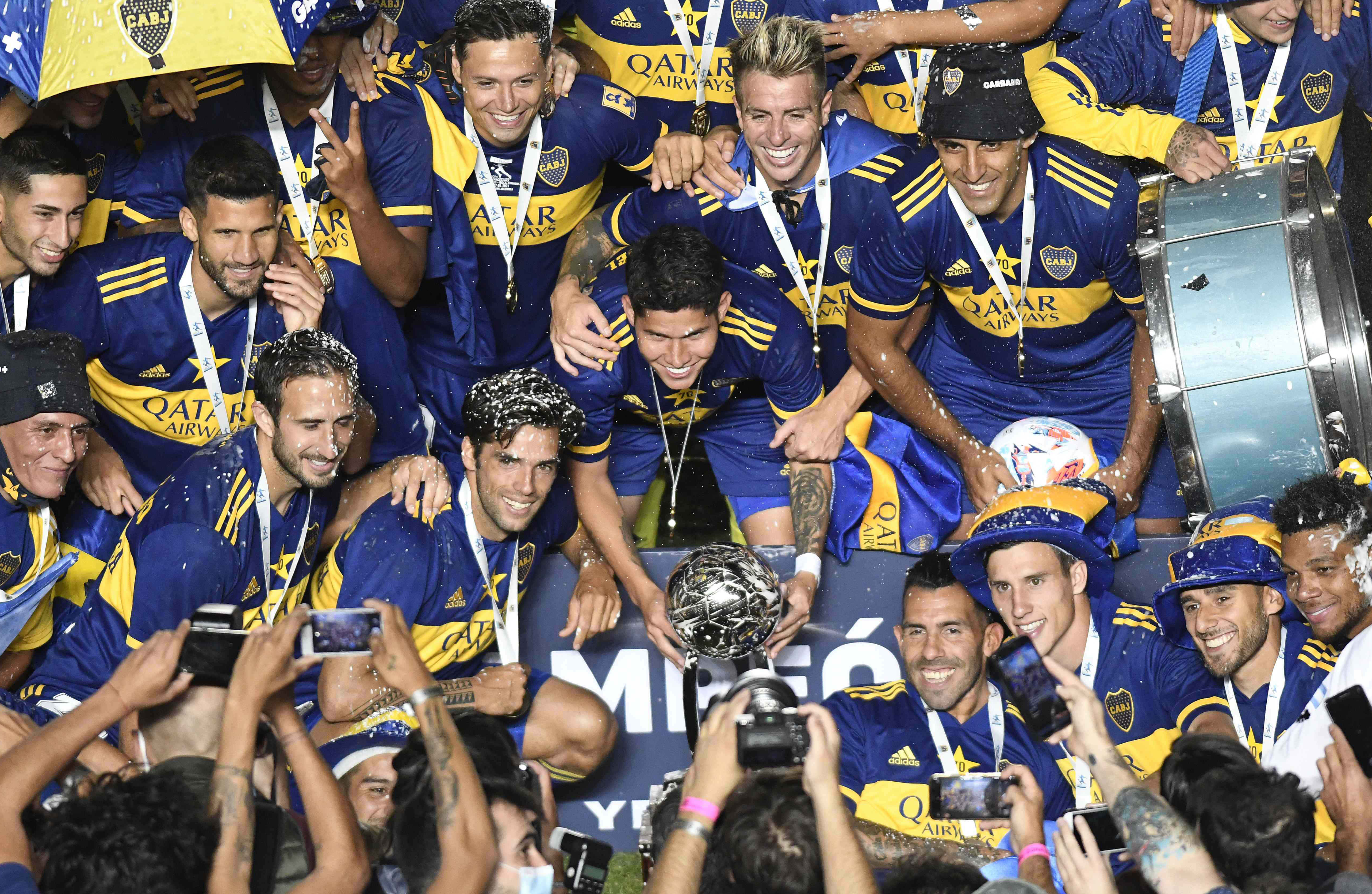 Julio Buffarini anotó el último penal que coronó al equipo de Miguel Ángel Russo en San Juan