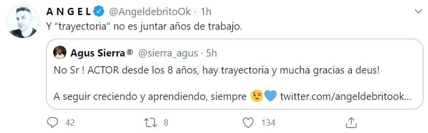 "Ángel y una chicana a ""Cachete"""