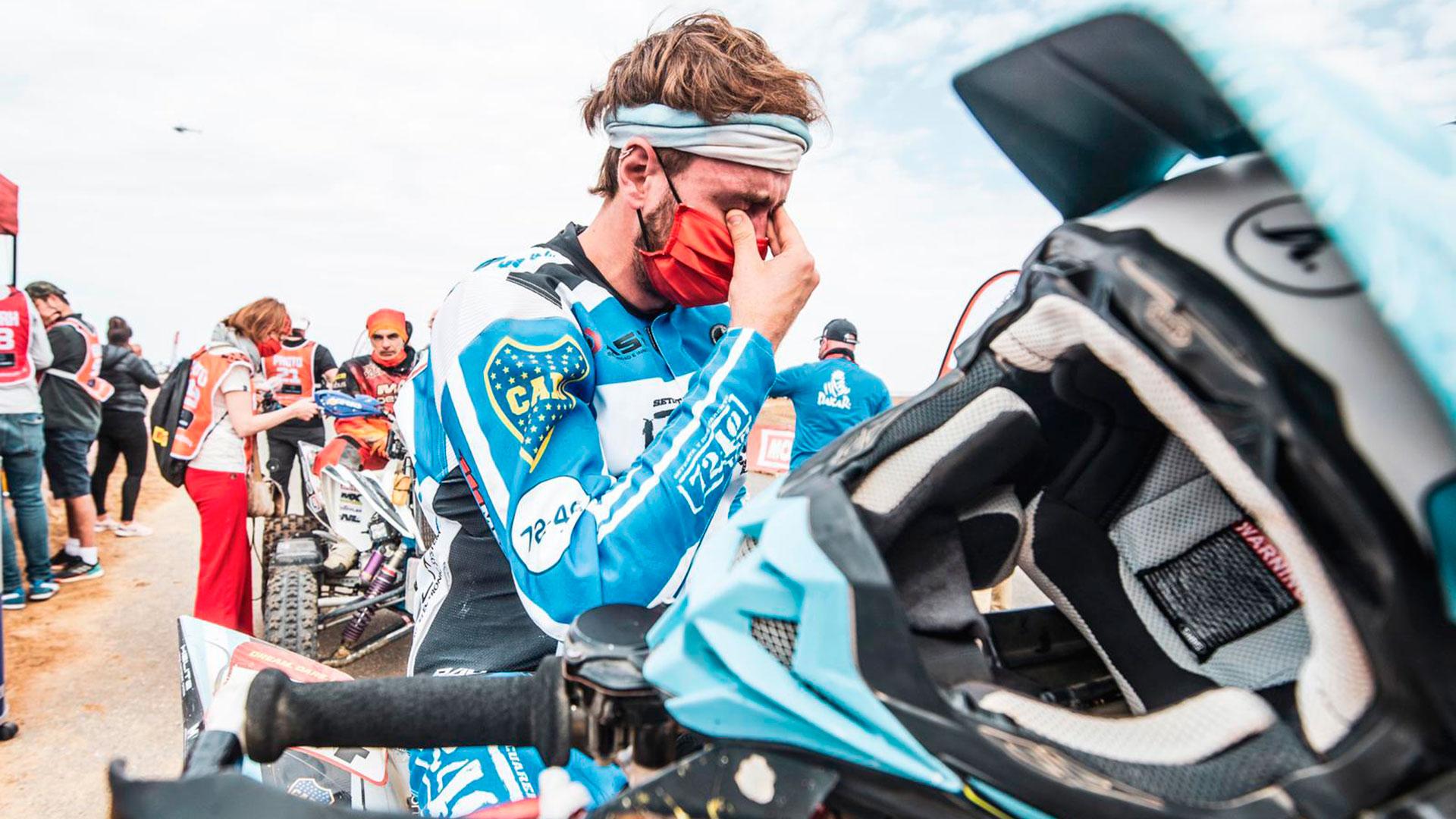 Manuel Andújar, oriundo de Lobos, se proclamó campeón del Dakar en quads