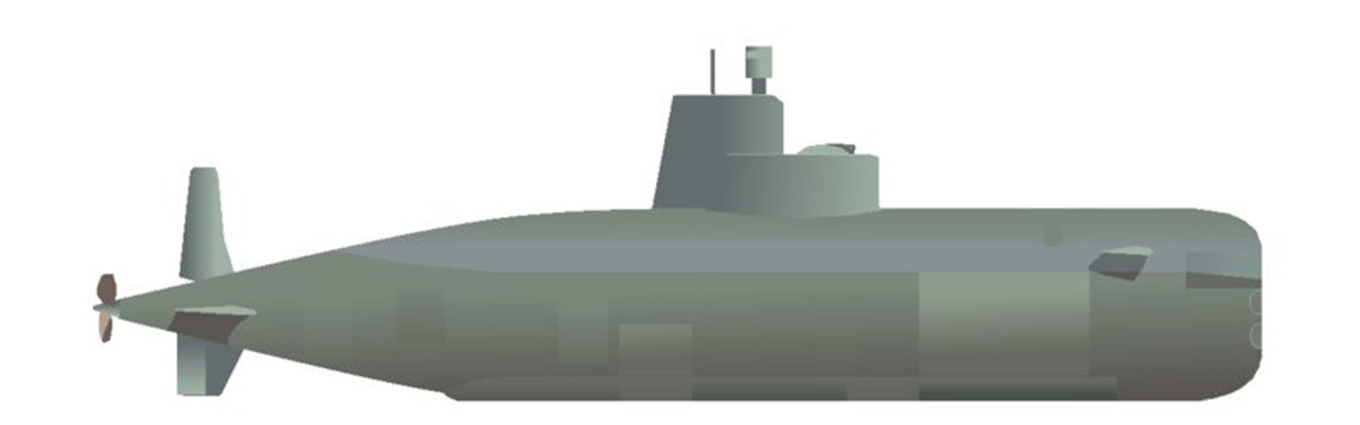 El diseño del minisubmarino