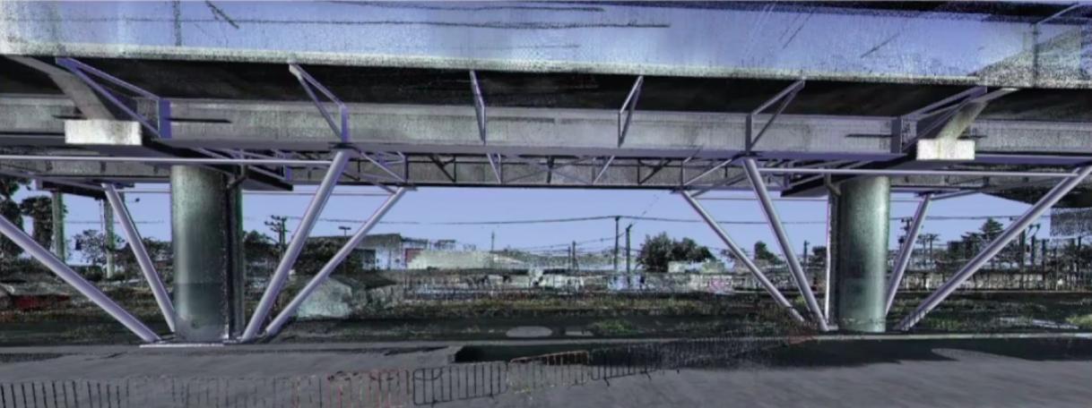 Boceto de cómo se rehabilitará el tramo colapsado entre las estaciones Tezonco y Olivos de la Línea 12. (Foto: Secretaría de Obras y Servicios)