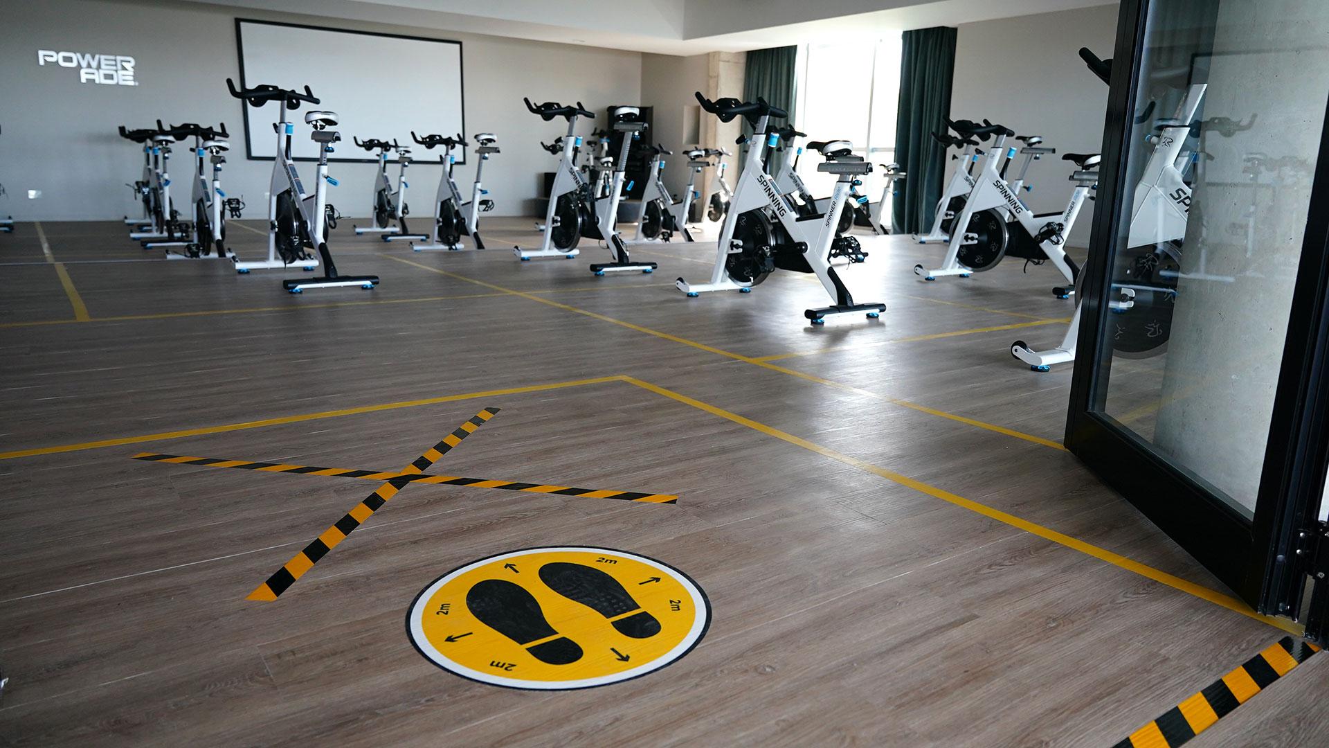 Dos semanas atrás, se permitió el regreso de la práctica de deportes individuales y ahora, con un protocolo específico, le llegó el turno a los gimnasios del municipio.