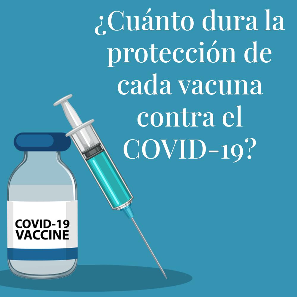 Cuánto dura la protección de cada vacuna contra el COVID-19? Este modelo  predictivo lo calcula - Infobae