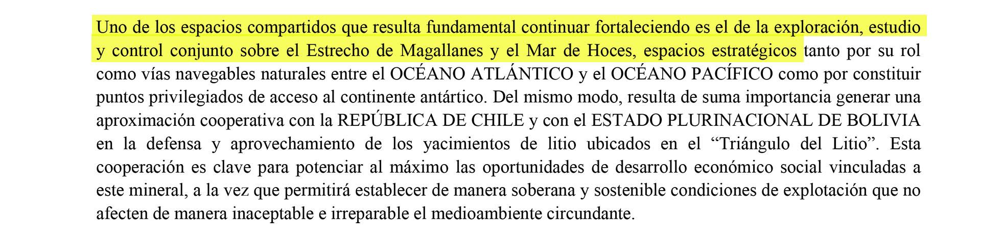 Increíblemente la orden presidencial dispone mantener el control conjunto sobre el Estrecho de Magallanes a 140 años de haber quedado esa vía marítima en manos de Chile