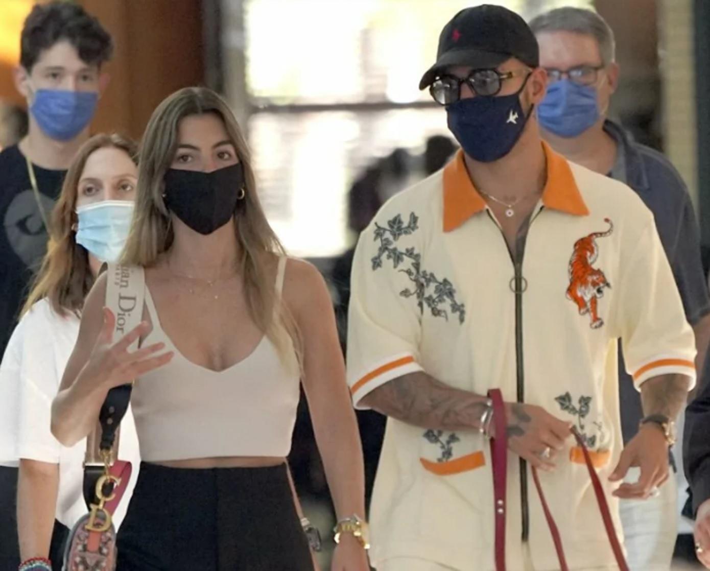 [Fotos] Maluma apareció con su novia en medio de rumores de crisis