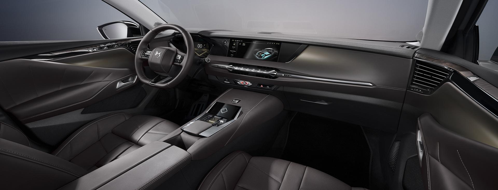 El interior tiene un estilo totalmente futurista (DS)