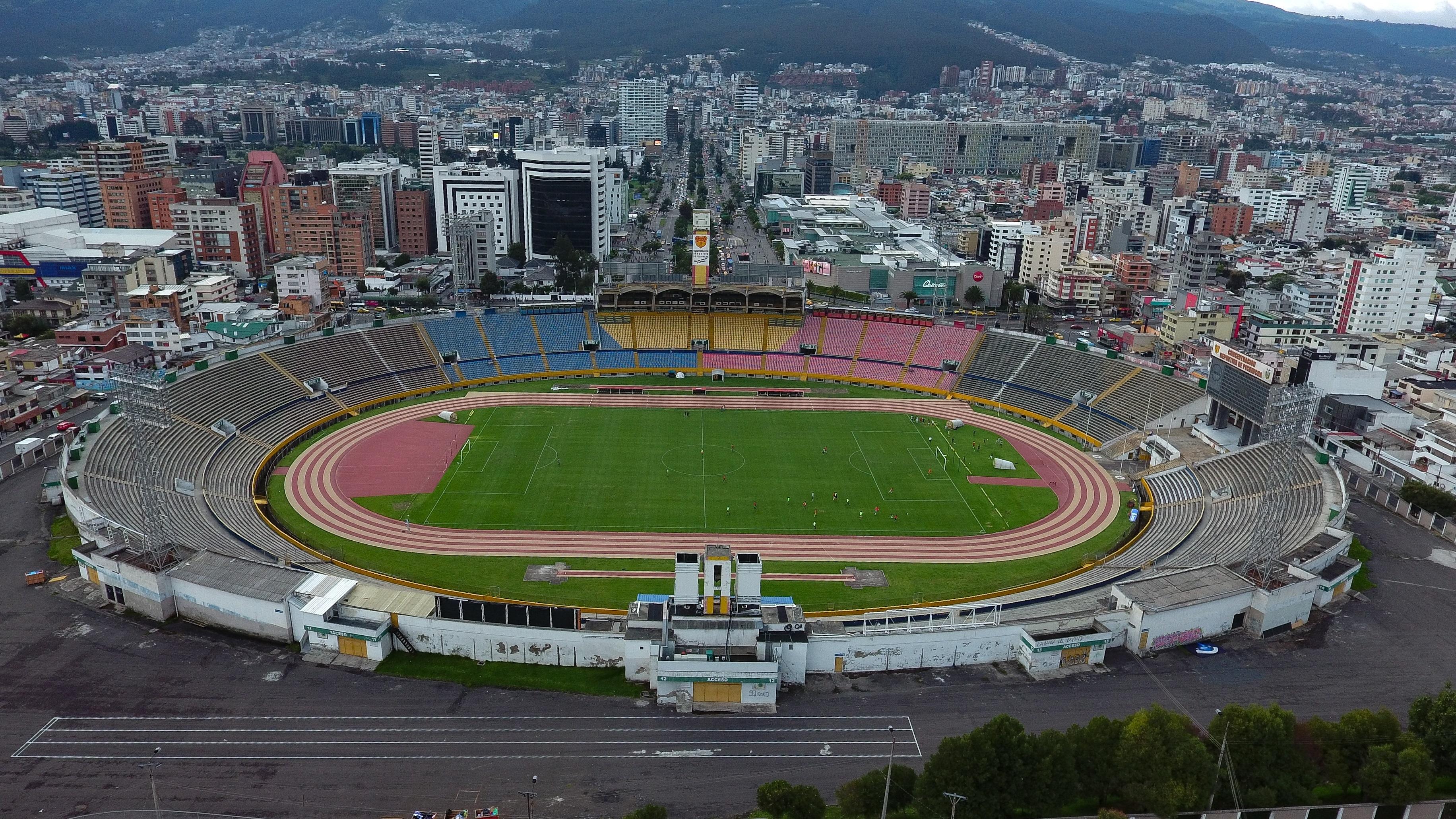PUESTO 8 - 151 / Estadio Olímpico Atahualpa de Quito, Ecuador (EFE/José Jácome/Archivo)