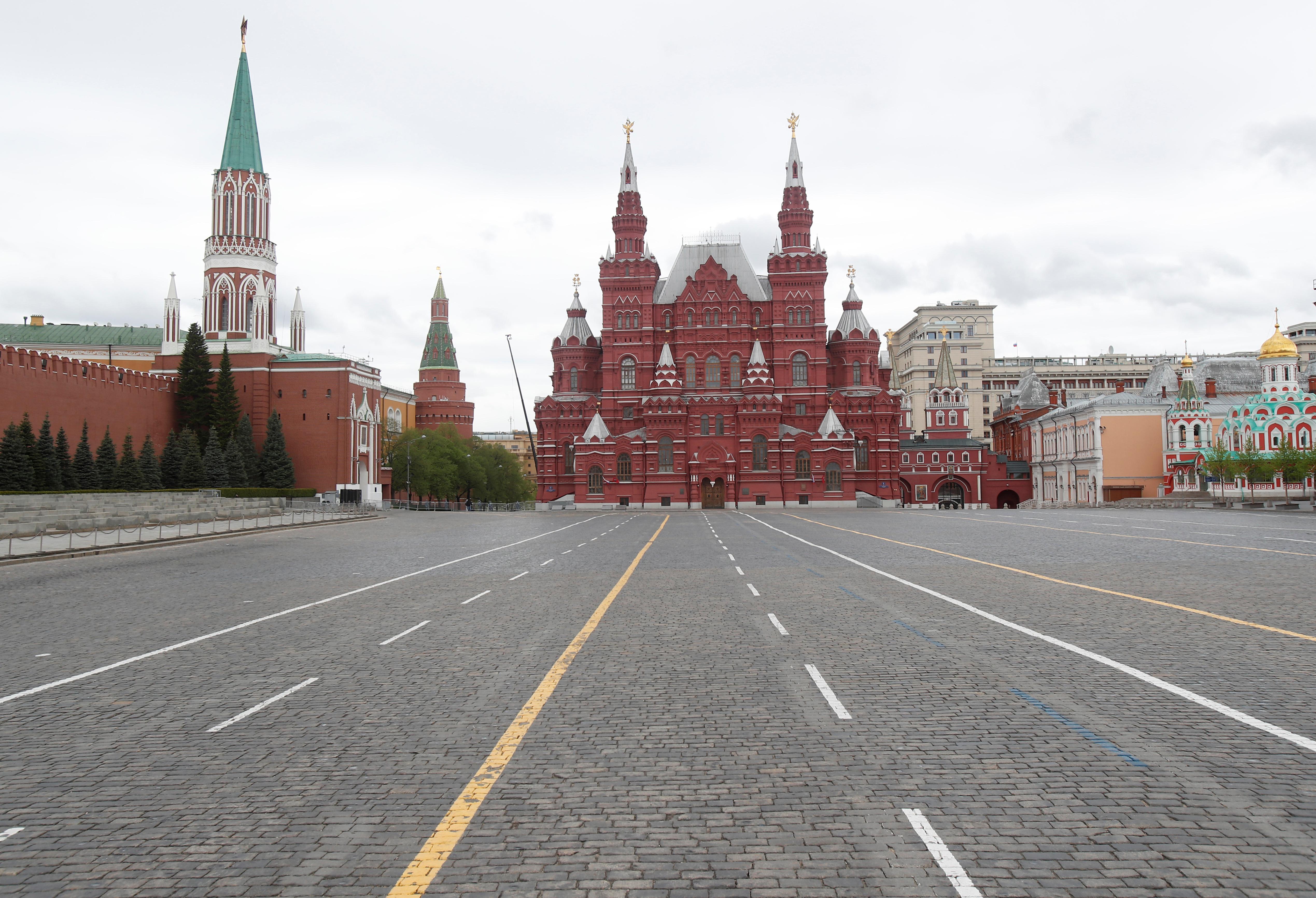 AHORA - La Plaza Roja durante el día de la Victoria, en el centro de Moscú (REUTERS/Maxim Shemetov)