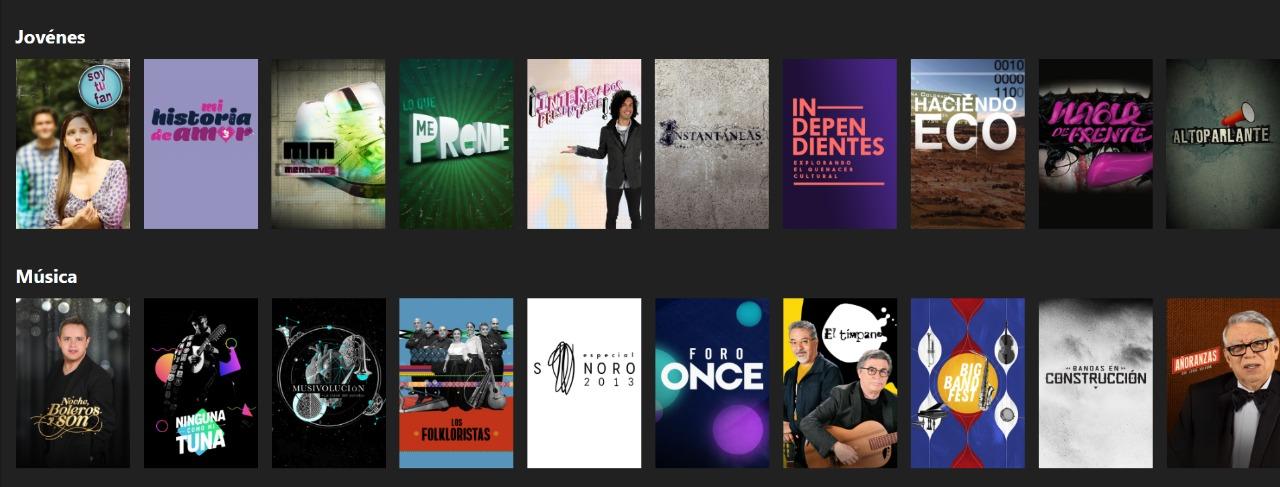 Foto: Captura de pantalla de Canal Once VOD