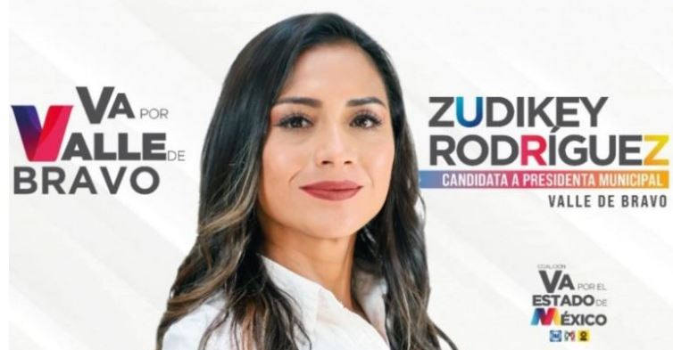 Zudikey Rodríguez, candidata del PRI-PAN-PRD en Valle de Bravo, perdió por  una diferencia de 1% - Infobae