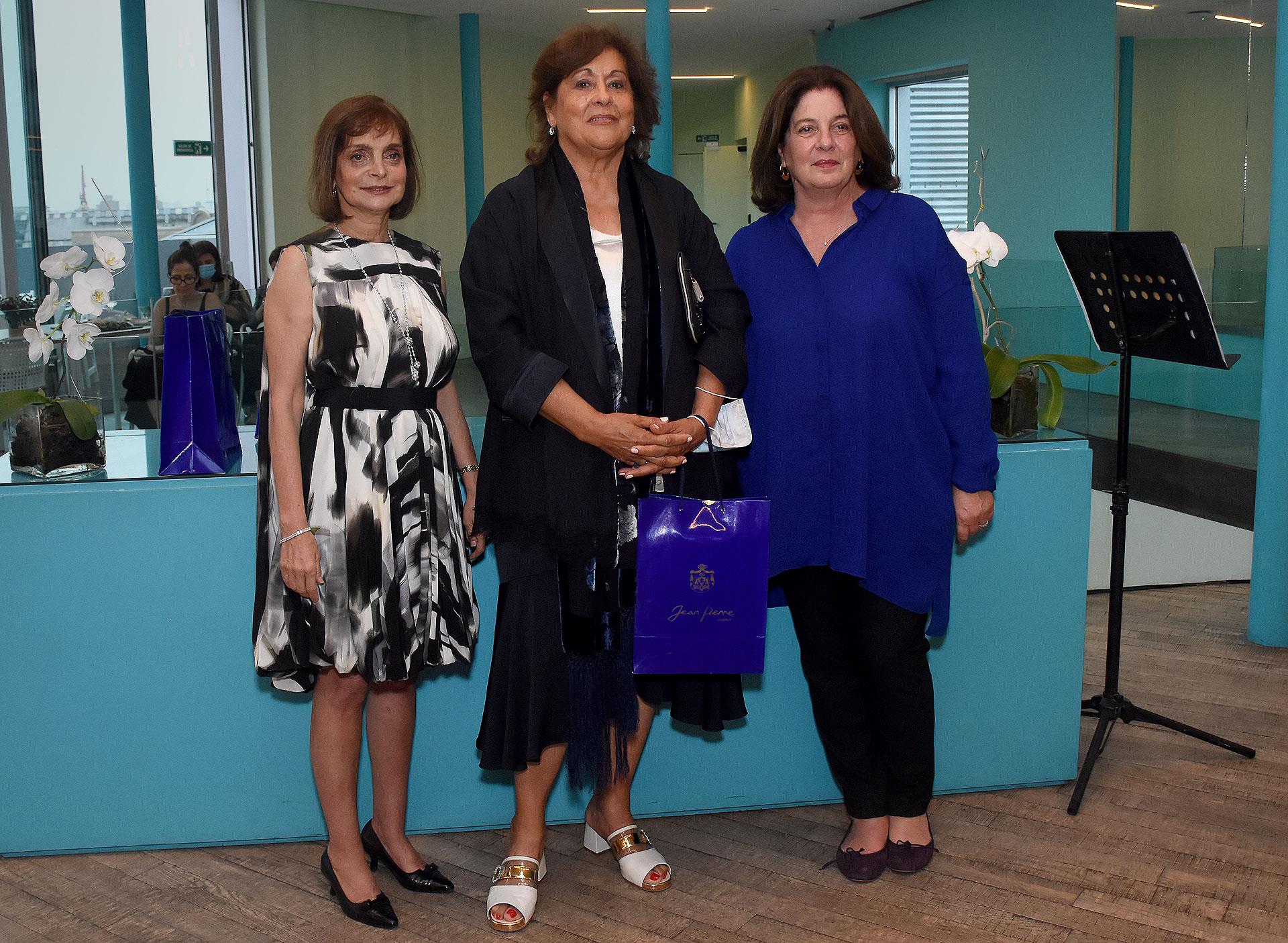 María Rosa Andreani, directora y creadora de la Fundación Andreani, y, además, mentora del nuevo espacio Fundación Andreani en La Boca, una iniciativa abierta a la cultura