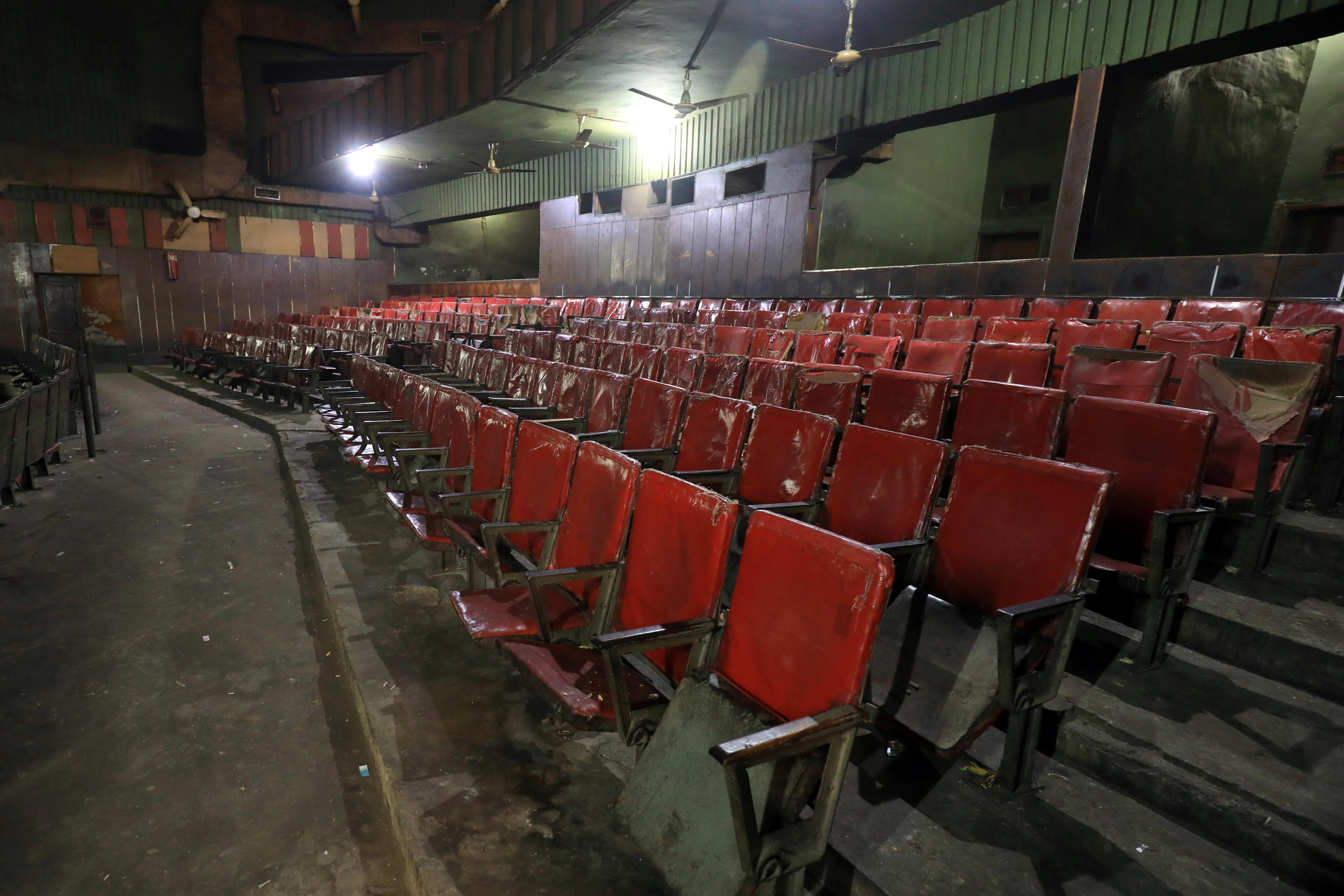 Un cine vacío (REUTERS/Fayaz Aziz)