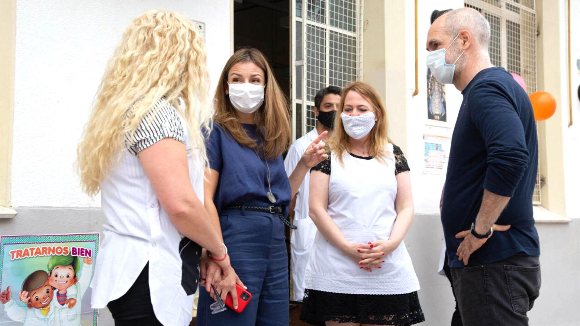 Horacio Rodríguez Larreta pasó por alto el brote masivo en el colegio ORT y minimizó el contagio en escuelas