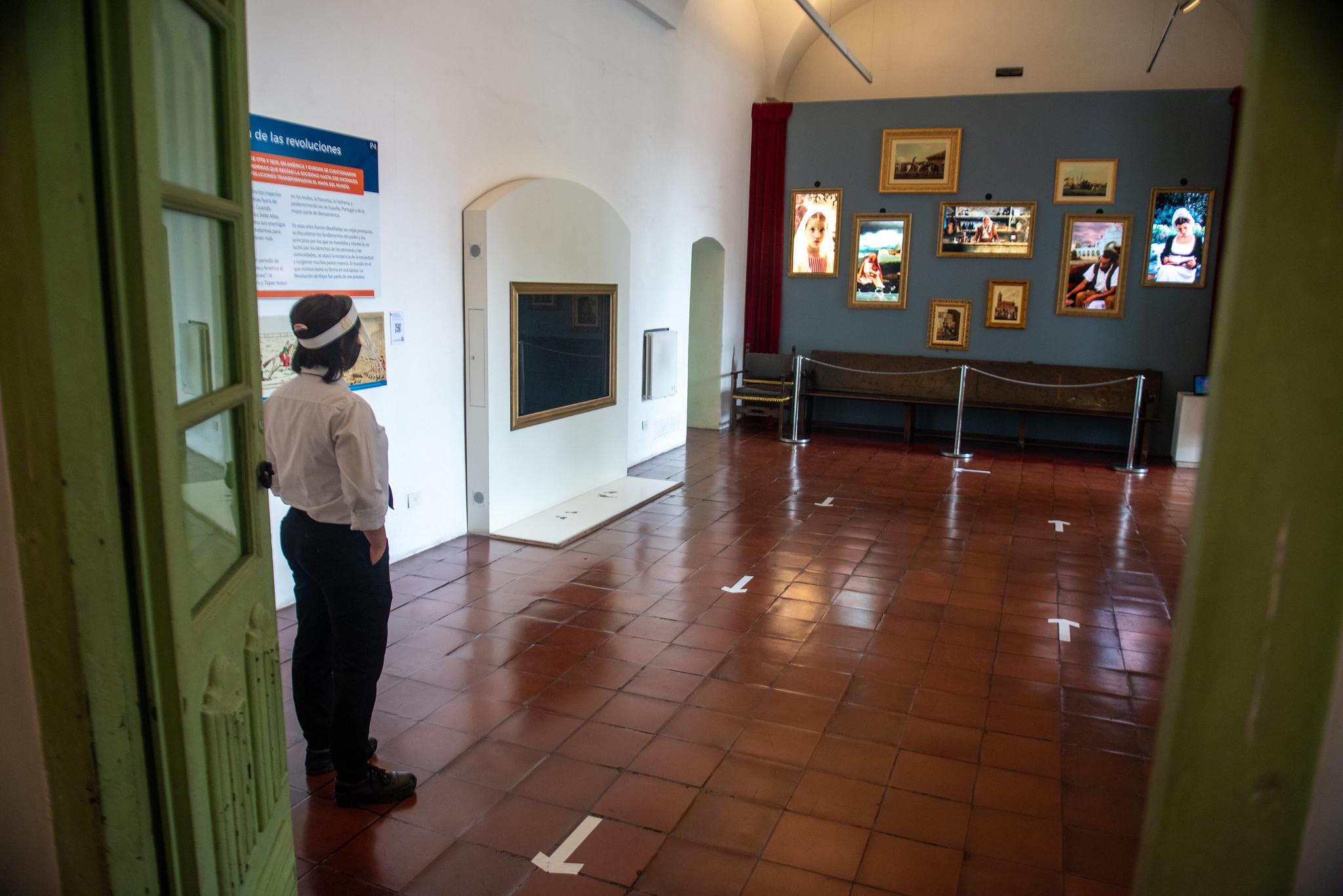 Con estrictas medidas de higiene, también reabrió el museo del Cabildo (Ministerio de Cultura)