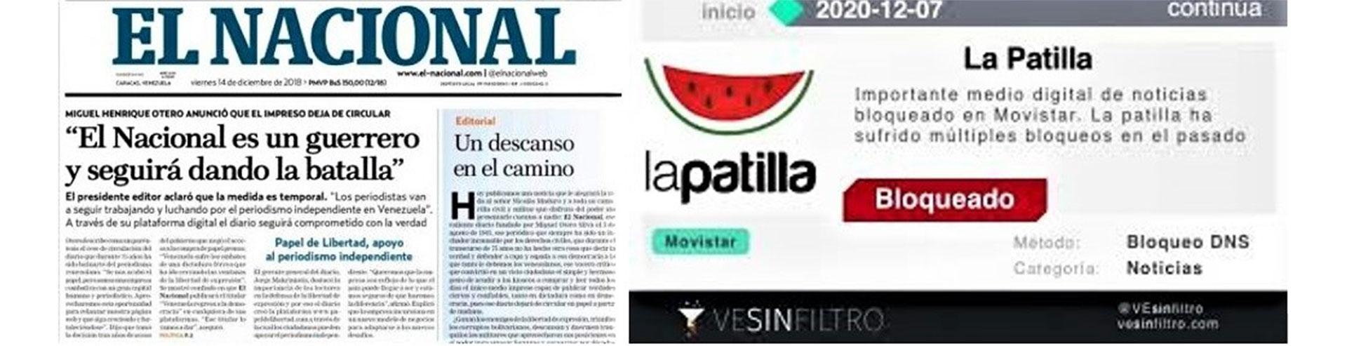 La Patilla y El Nacional, dos medios en la mira de Diosdado Cabello
