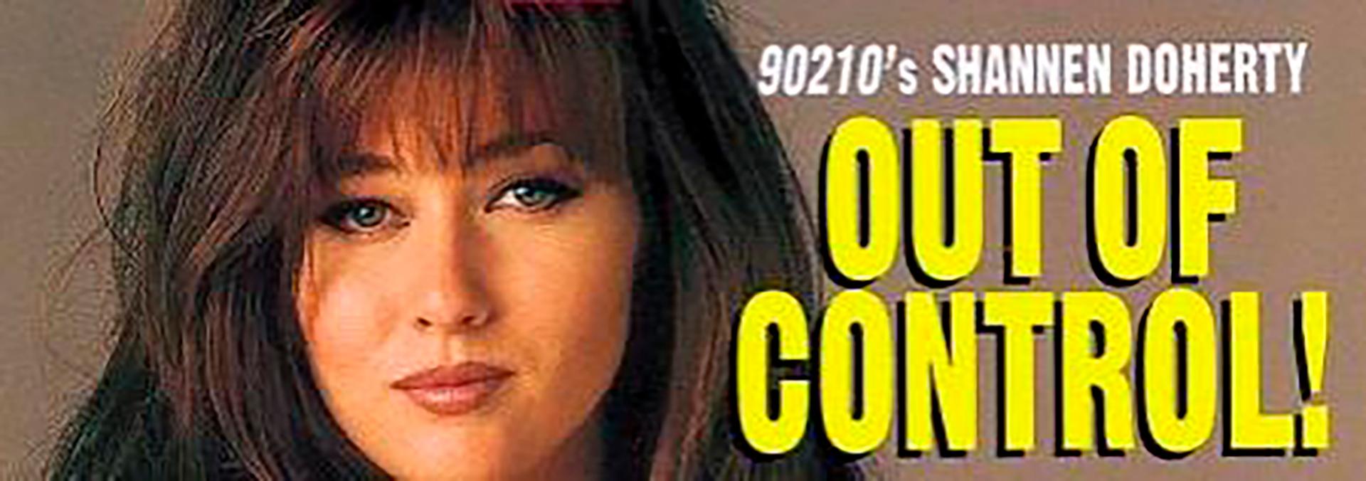 Shannen Doherty, la chica mala de los 90'