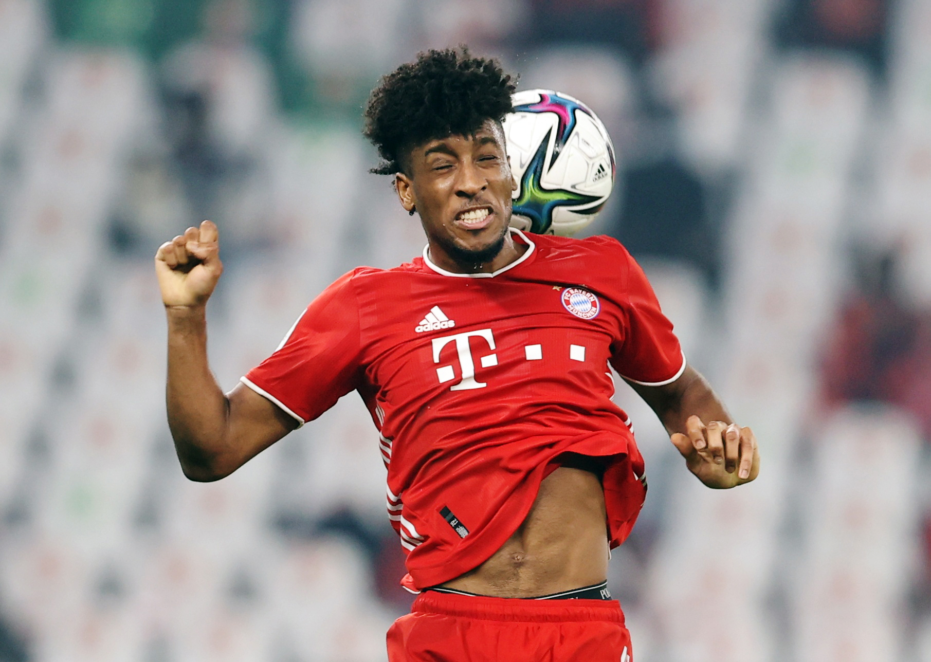 Kingsley Coman de Bayern Múnich.