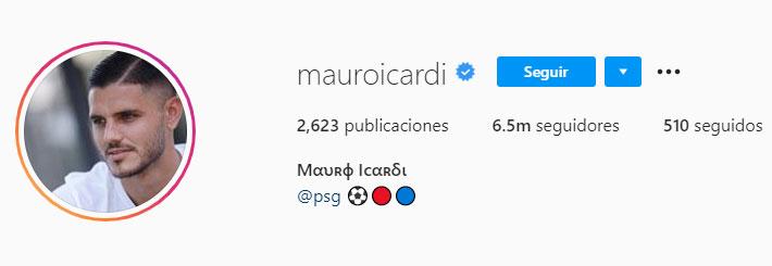 Mauro Icardi (Foto: Instagram)