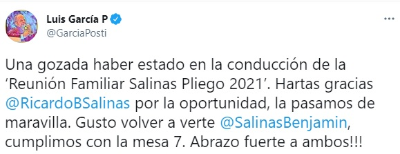 (Foto: captura de pantalla Twitter/@GarciaPosti)