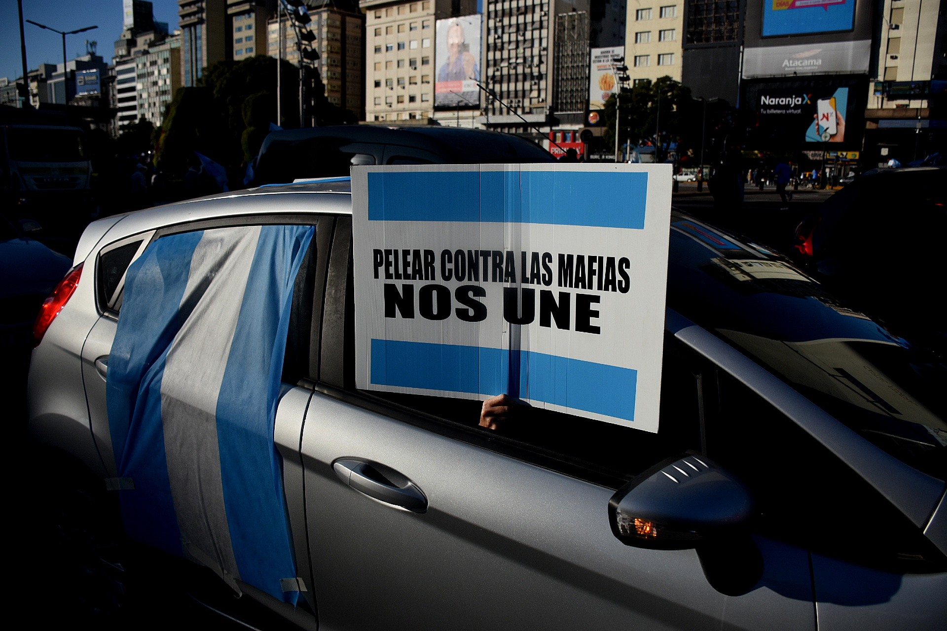 Durante la jornada se registraron fuertes cacerolazos en distintos barrios de la Ciudad de Buenos Aires