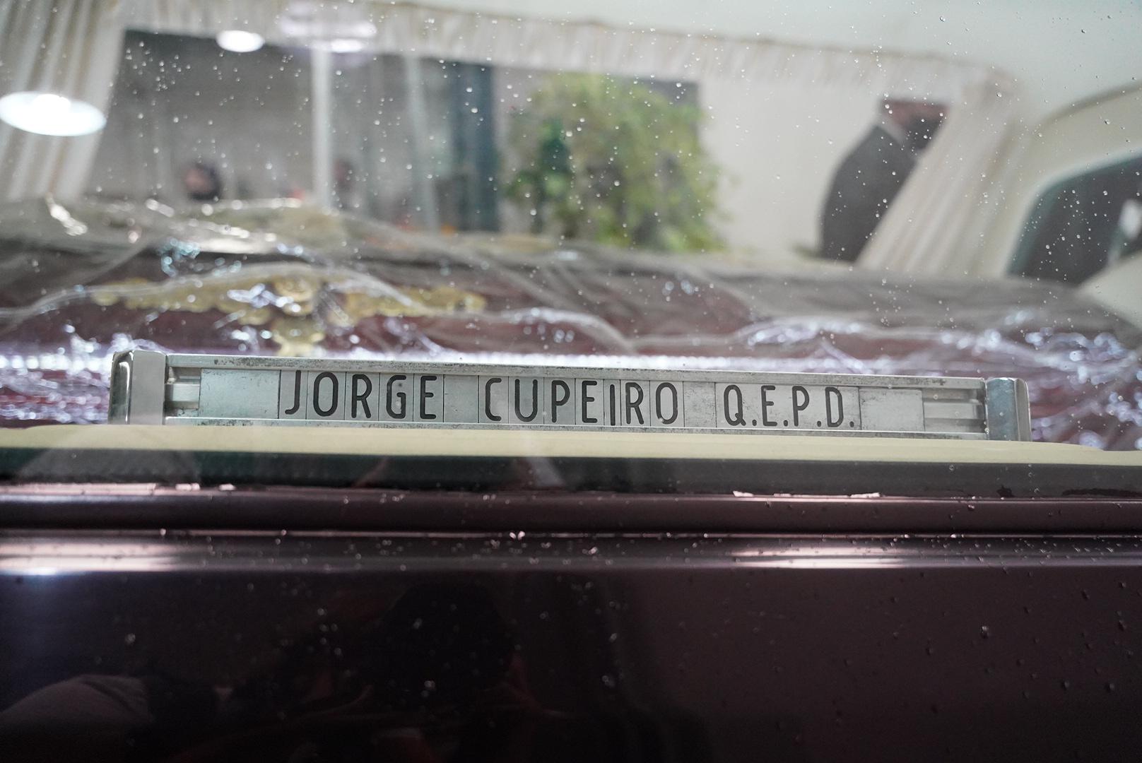 Jorge Cupeiro murió a los 83 años