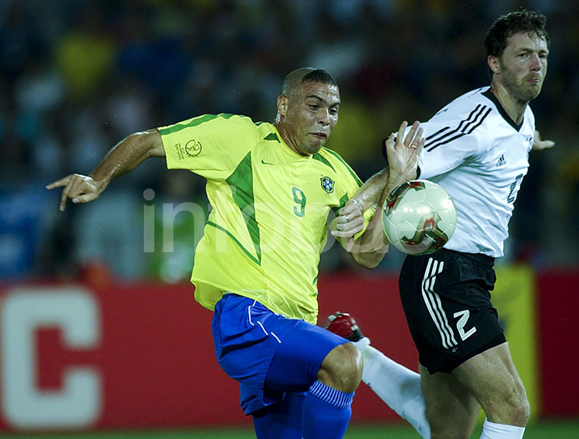 El brasileño Ronaldo fue una de las figuras en el equipo de Brasil que se coronó campeón del Mundial de Corea-Japón 2002 tras vencer a Alemania en la final