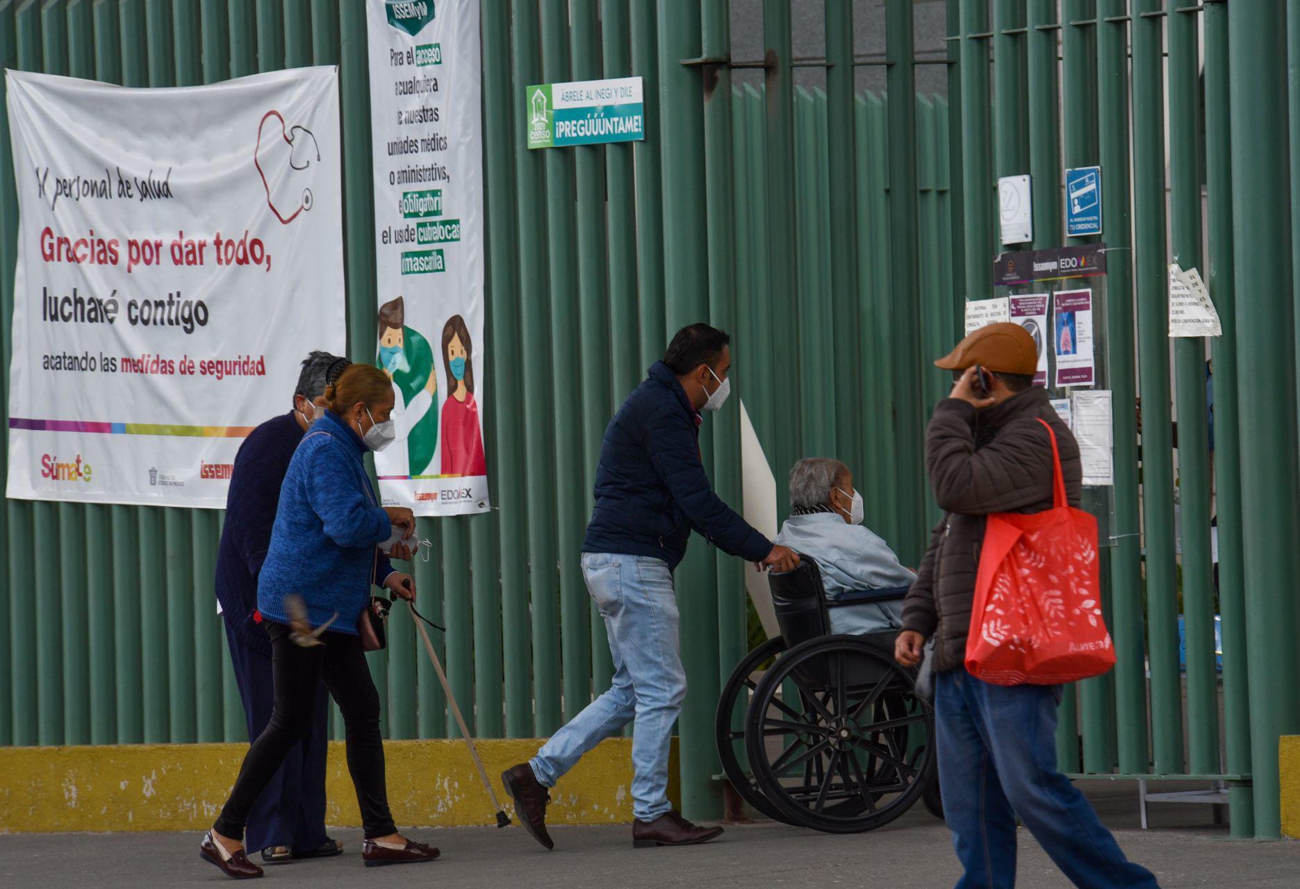 Toluca, Estado de México, 16 de diciembre de 2020.A AGUILAR /CUARTOSCURO.COM