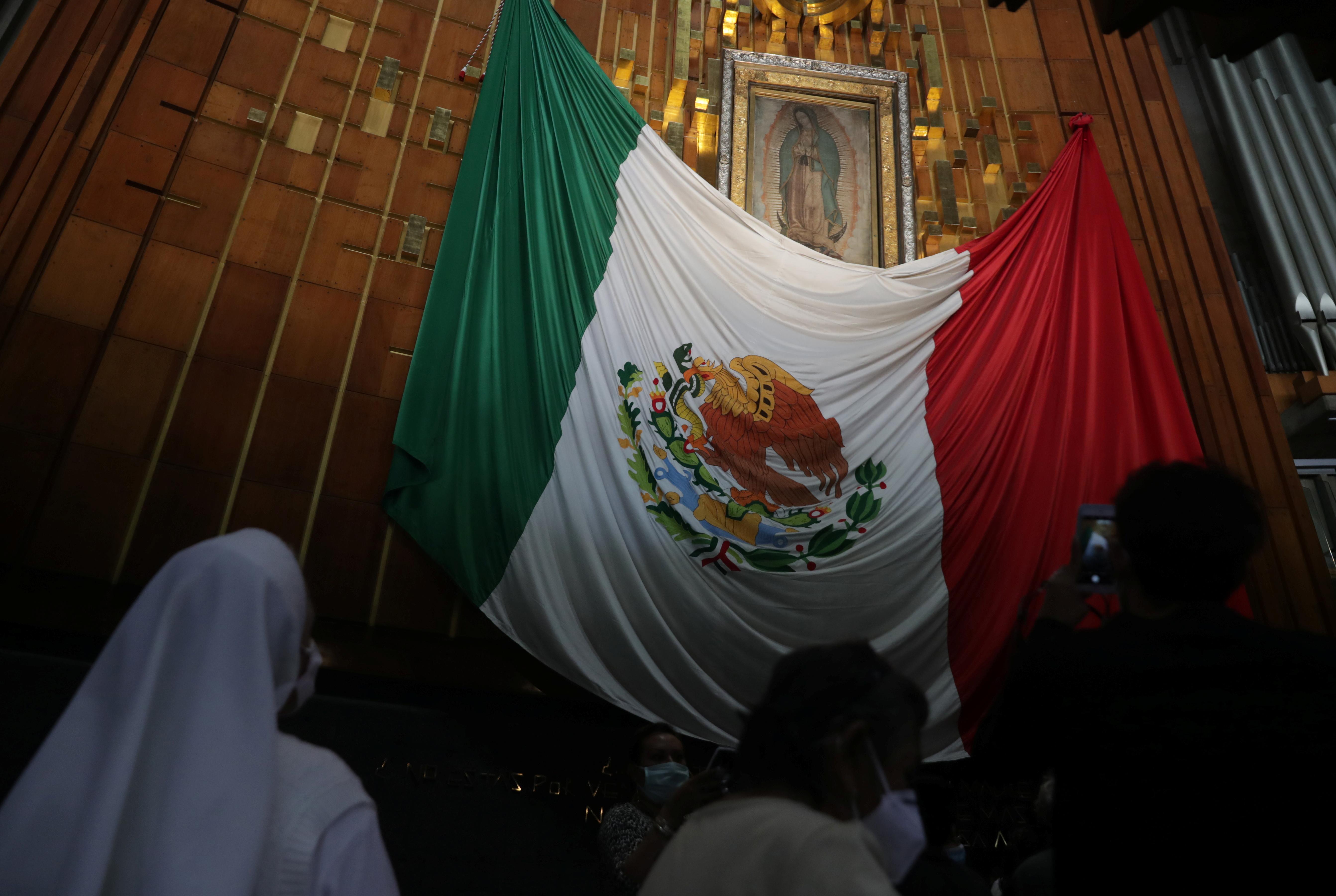 Basílica de Guadalupe. Ciudad de México, 5 de diciembre de 2020.