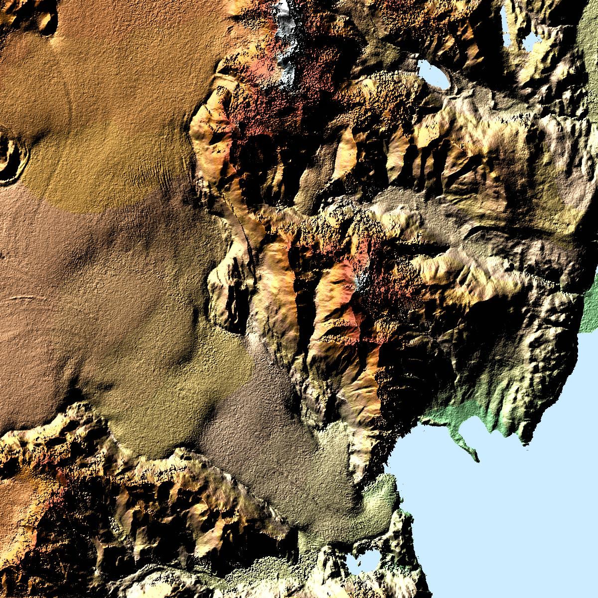Glaciar Viedma y el monte Fitzroy, Argentina