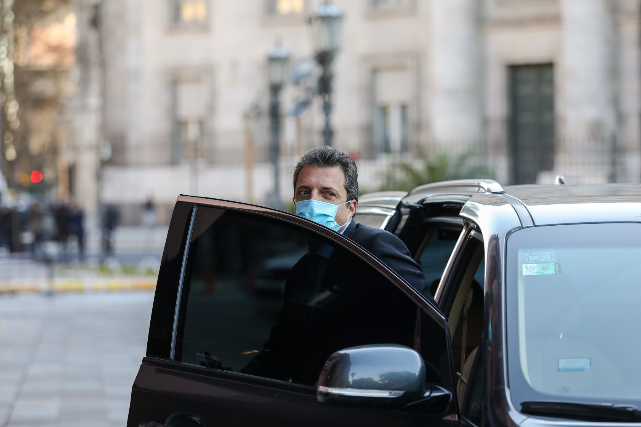 Sergio Massa será uno de los protagonistas en la discusión que se llevará a cabo en la Cámara de Diputados