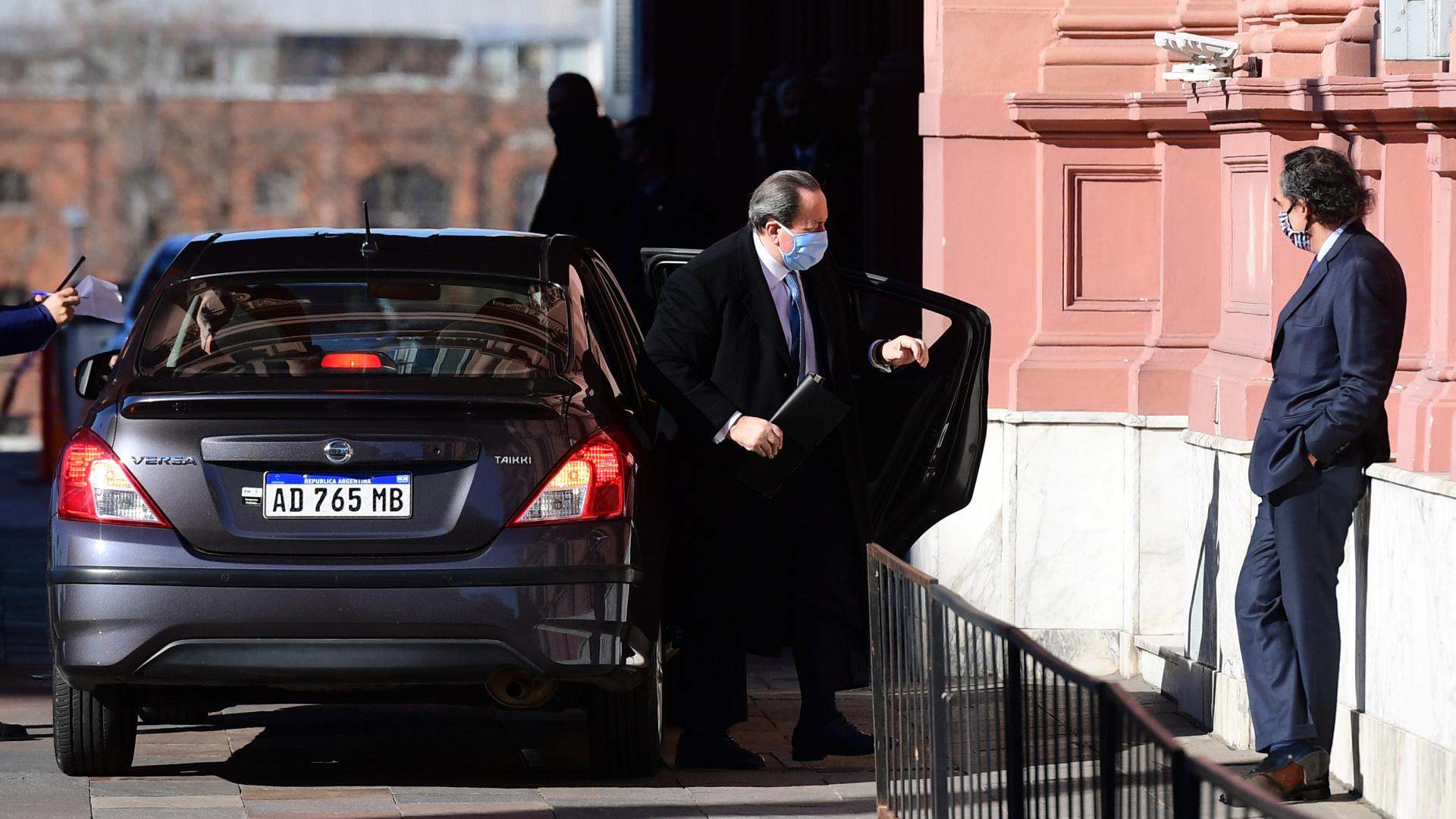El ex ministro de Seguridad de la provincia de Buenos Aires, León Arslanián