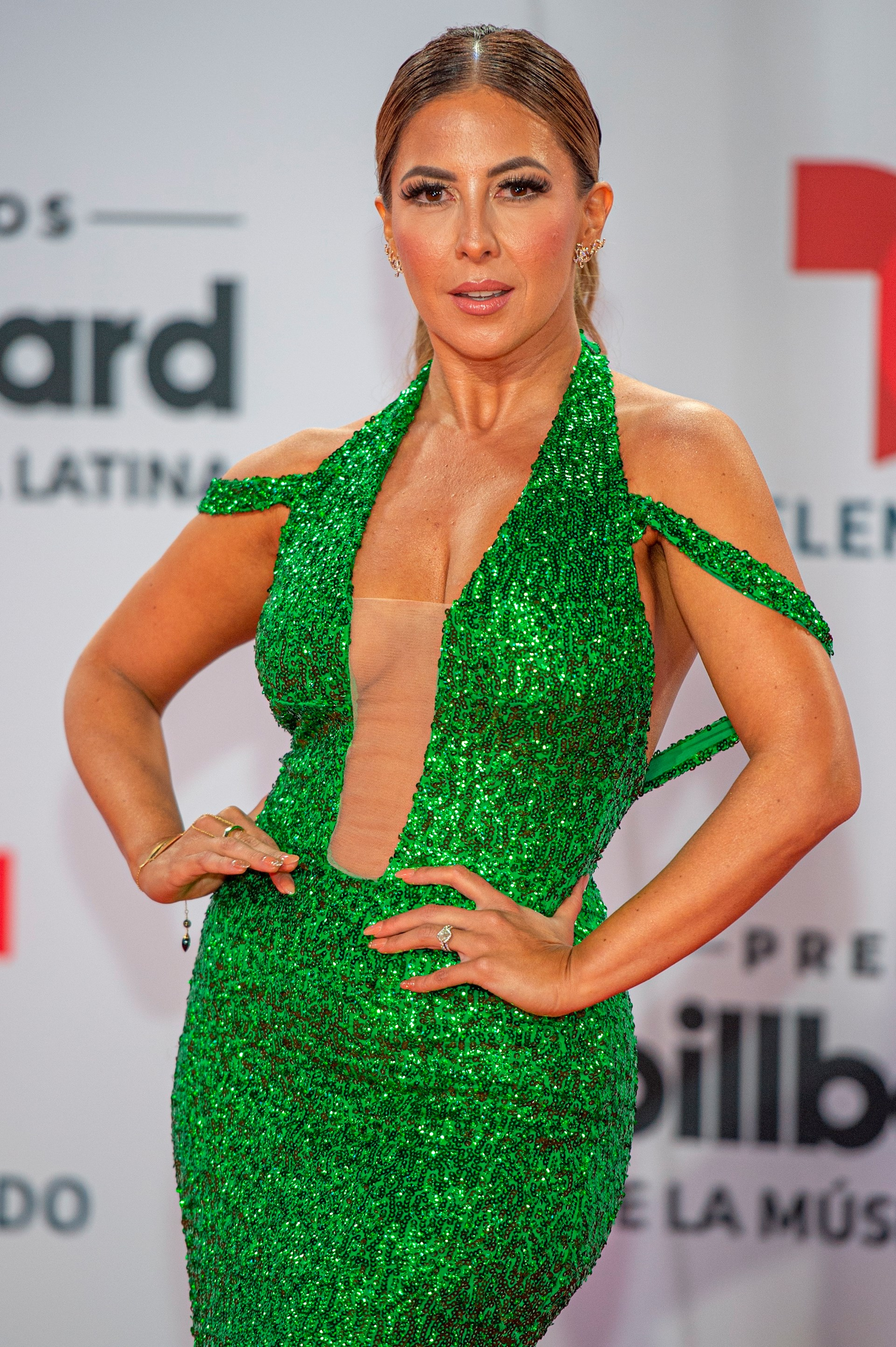 La presentadora mexicana Stephanie Himonidis