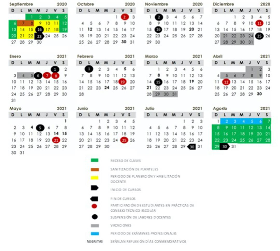 SEP: este es el calendario escolar oficial para educación básica