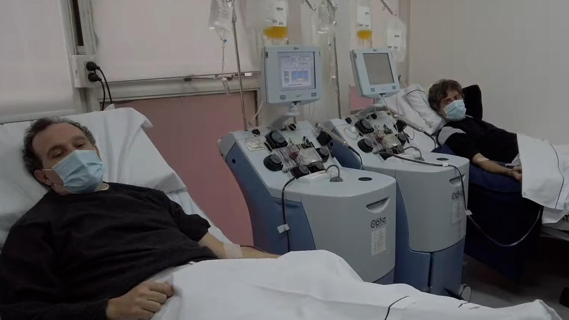 Donación de plasma de convalesciente. Una de las esperanzas contra la enfermedad