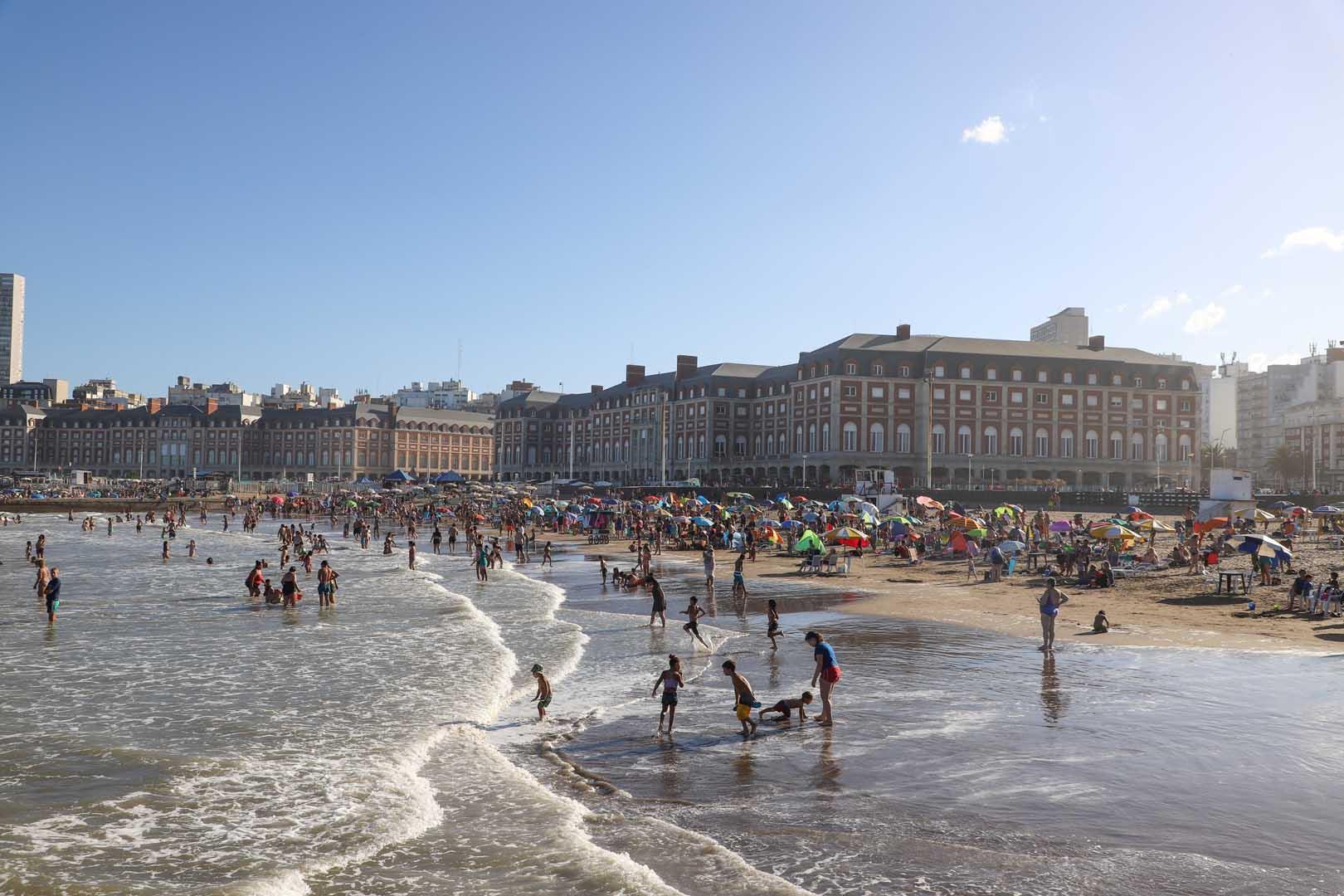 La zona céntrica de la ciudad recibió a una gran porción del turismo que llegó durante el fin de semana